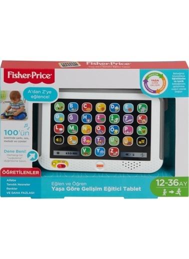 Mattel Fisher-Price Eğlen & Öğren Yaşa Göre Gelişim Eğitici Tablet (Türkçe) 28 Farklı Uygulama CLK64 Renkli